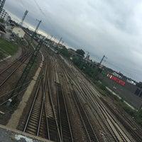 Photo taken at Bahnhof Bruchsal by Anthi G. on 10/6/2016