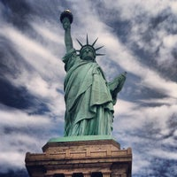 Photo taken at Statue of Liberty by Mike L. on 7/21/2013