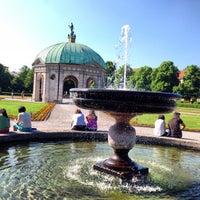 Photo taken at Hofgarten by Andre L. on 6/8/2013