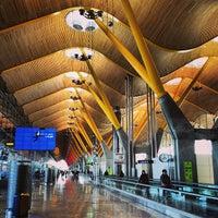Photo taken at Terminal 4 by Ricardo M. on 1/10/2013