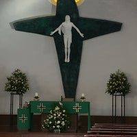 Photo taken at Parroquia Sta. María Madre de la Misericordia by Laura Patricia A. on 7/8/2016