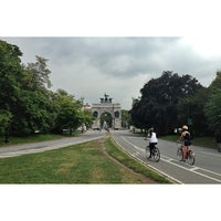 Photo taken at Prospect Park Loop by Jon S. on 8/22/2013