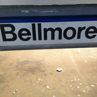 Photo taken at LIRR - Bellmore Station by Tim S. on 12/18/2012