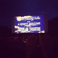 Photo taken at Wellfleet Drive-in and Cinemas by Robyn T. on 9/2/2013