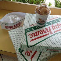 Photo taken at Krispy Kreme Doughnuts by msdarling on 7/13/2013