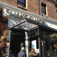 Photo taken at Shake Shack by Sam B. on 1/6/2013