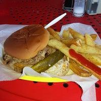 Photo taken at Dixie Pig Bar-B-Q by Jason K. on 5/25/2013