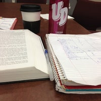 Photo taken at Roesch Library by Sydney P. on 11/15/2012