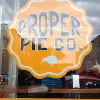 Photo taken at Proper Pie Co. by Virginia C. on 12/16/2012