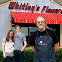 Photo taken at Whitley's Flowers by Dave W. on 2/16/2013