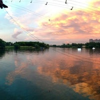 Photo taken at Траектория Wake Park by Bruce H. on 7/20/2013