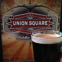Photo taken at Union Square by Chuck M. on 3/15/2013