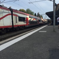Photo taken at Gare SNCF de Beaulieu-sur-Mer by Muhammet D. on 6/29/2016