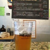 Photo taken at Due South Brewing Co. by David S. on 7/11/2013