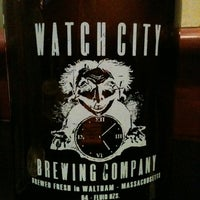 Photo taken at Watch City Brewing Co. by Todd S. on 11/10/2012