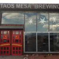 Photo taken at Taos Mesa Brewing by Paige D. on 5/10/2013