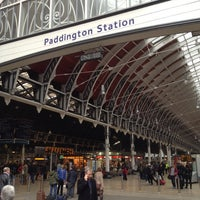 Photo taken at London Paddington Railway Station (QQP) by Radik A. on 11/16/2012