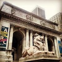 Photo taken at New York Public Library - Stephen A. Schwarzman Building Celeste Bartos Forum by Mauro F. on 4/5/2014