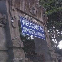Photo taken at SMPN 3 Denpasar by Ode P. on 11/12/2012