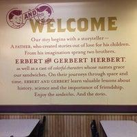 Photo taken at Erbert & Gerbert's by Laura S. on 9/8/2014