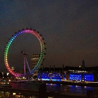 Photo taken at The London Eye by Lunita on 6/29/2013