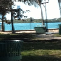 Photo taken at Dog Park for The Waverly & The Flamingo by SLICK on 1/3/2013