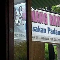 Photo taken at Masakan Padang Komar by Sammi j. on 2/6/2014