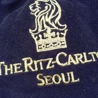 Photo taken at The Ritz-Carlton Seoul by Natalie W. on 11/3/2012