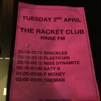Photo taken at Racket Club by LISA on 4/2/2013