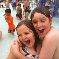 Photo taken at Lake Eva Aquatic Center (Water Park) by Katy W. on 6/14/2013