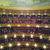 Photo taken at Teatro Colón by Juli C. on 10/21/2012