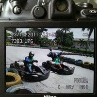 Photo taken at Speedy Karting by Jefry K. on 12/23/2012