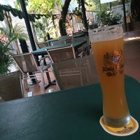 Photo taken at Beer Garden 花園餐廳 by Roger P. on 1/12/2014