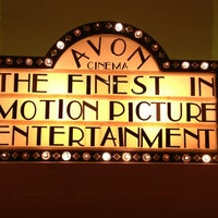 Photo taken at Avon Cinema by Kevin V. on 1/1/2013