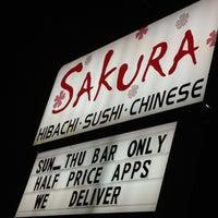 Photo taken at Sakura by Kevin V. on 9/16/2012
