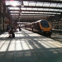Photo taken at Stoke-on-Trent Railway Station (SOT) by Wassan M. on 8/26/2013