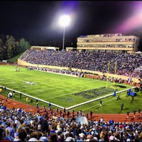 Photo taken at Brooks Field at Wallace Wade Stadium by Clay V. on 10/20/2012