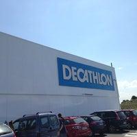 Photo taken at Decathlon by Albert S. on 6/15/2013