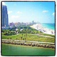 Photo taken at Nikki Beach Miami by John F. on 7/22/2013