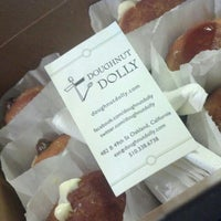 Photo taken at Doughnut Dolly by DundS on 10/14/2012