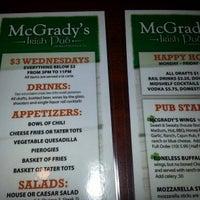 Photo taken at McGrady's Irish Pub by Konstantinos T. on 1/9/2013