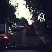 Photo taken at Jalan Jend. Ahmad Yani by Esa M. on 7/26/2014