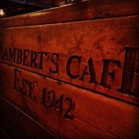 Photo taken at Lambert's Cafe by Jeremy Q. on 7/5/2013