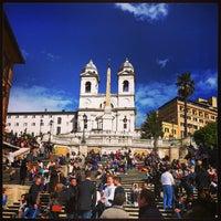 Photo taken at Piazza di Spagna by Roman on 3/9/2013