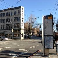 Photo taken at Metro Bus Stop #515 by Cheryl R. on 3/30/2013