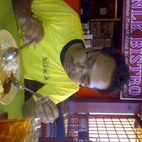 Photo taken at Nasi Lemak Kapar (NLK Bistro) by Sarah N. on 12/8/2012