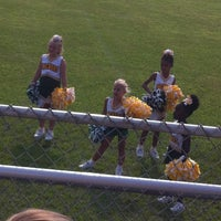 Photo taken at Bellview Packers Football Field by ✨jaclyn d. on 8/31/2013