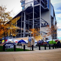 Photo taken at Nittanyville by Han M. on 10/25/2014