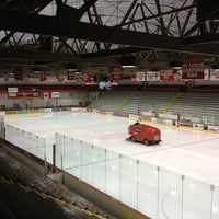 Photo taken at Lynah Rink by Mark on 2/22/2013