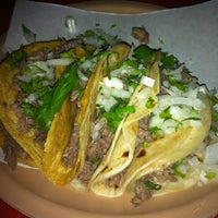 Photo taken at Tacos Bomberos by Xochitl O. on 2/18/2013